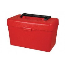 "MTM Shooter Tool Box Mini 7.8x4.5x4.7"" Red"