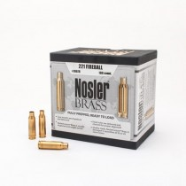 Nosler Custom Brass 221 Rem Fireball x100
