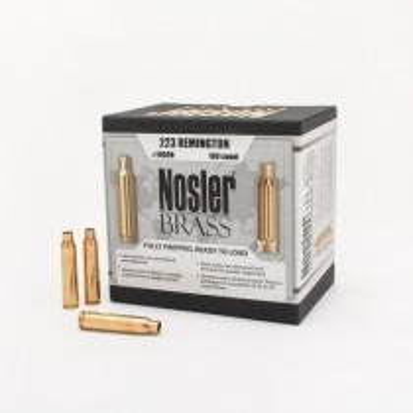 Nosler Custom Brass 223 Remington x50