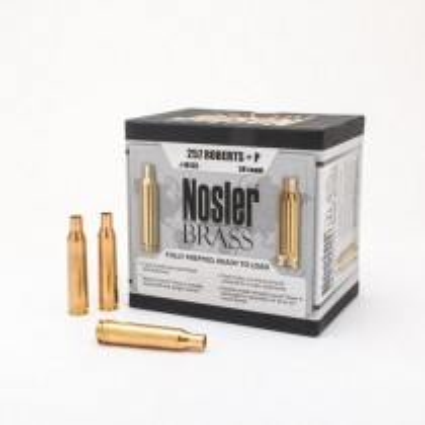 Nosler Custom Brass 257 Roberts +P x50