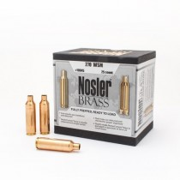 Nosler Custom Brass 270 WSM x25