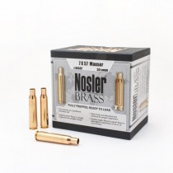 Nosler Custom Brass 7x57 Mauser x50