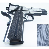 Pachmayr G10 Tactical Grips 1911 Gray / Black Fine