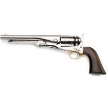 Pietta Black Powder Revolver 1860 Army Old Silver .44