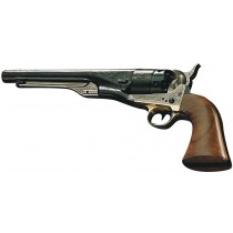 Pietta Black Powder Revolver 1860 Army Luxe Engraved Brass .44
