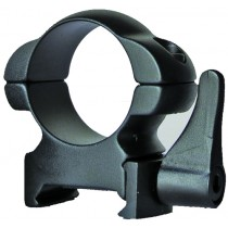 "Sun Optics USA Solid Steel Rings Quick Release 1"" Medium Black Matte"