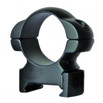 Sun Optics USA Solid Steel Rings Hex 30mm Medium Black Matte