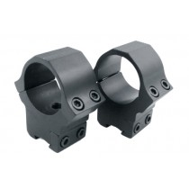 "Sun Optics USA Air Sport Rings 1"" Airgun High Black Satin"