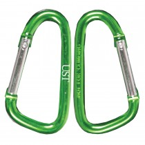 UST Carabiner 8cm 2 Pack Assorted