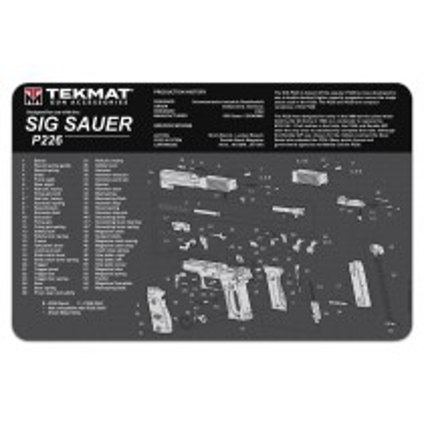 TekMat Sig Sauer P226 Cleaning Mat