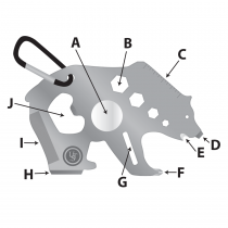UST Multi-Tools Tool A Long Bear