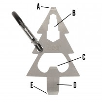 UST Multi-Tools Tool A Long Micro Pine Tree