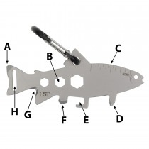 UST Multi-Tools Tool A Long Trout