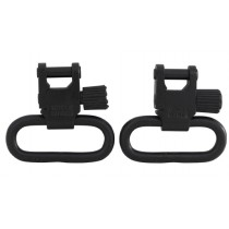 "Uncle Mike's Quick Detachable Super Sling Swivel Set 1"" / 25.4mm"