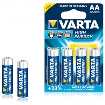 Varta High Energy AA Batteries pack of 4