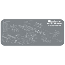 """Wheeler Engineering Delta Series AR-15 Cleaning and Maintenance Mat 20"""" x 47"""""""