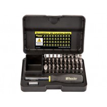 Wheeler Engineering 43-Piece Professional Gunsmithing Screwdriver Set