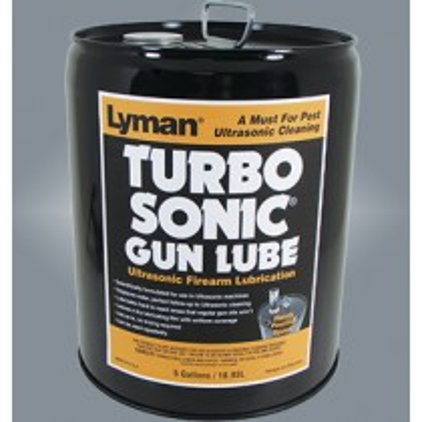 Lyman Turbo Sonic Ultrasonic Gun Parts Lubricant 5 gallon 18.9 Liters