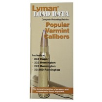 LYMAN Load Data Book 20, 22 Cal