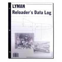 Lyman Reloader Data Log