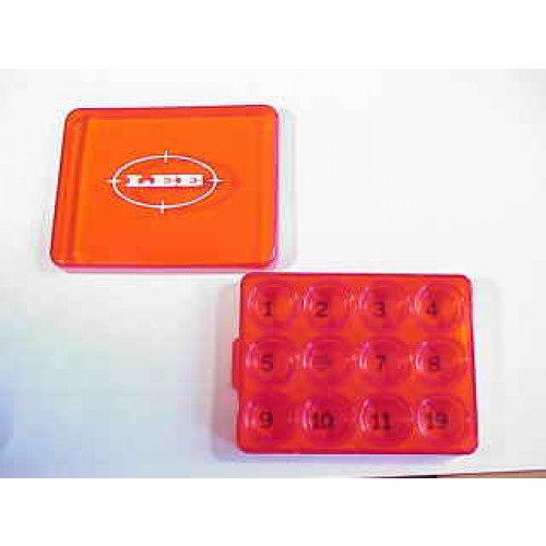 Lee Parts Shell_Hldr_Box_Red
