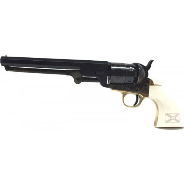 Pietta YANIG44GR Revolver Poudre Noire 1851 Navy Yank Acier General Lee .44