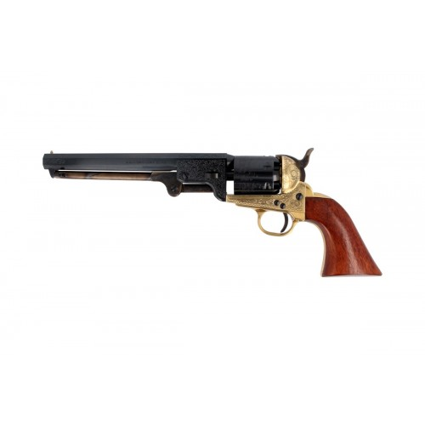 Pietta RNL44 Revolver Poudre Noire 1851 Navy Rebnord Luxe Cal.44