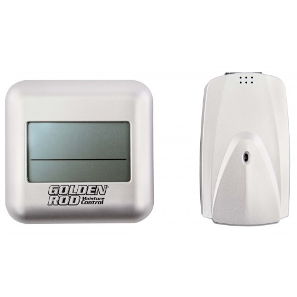 Lockdown Golden Rod Hygromètre Digital Sans Fil