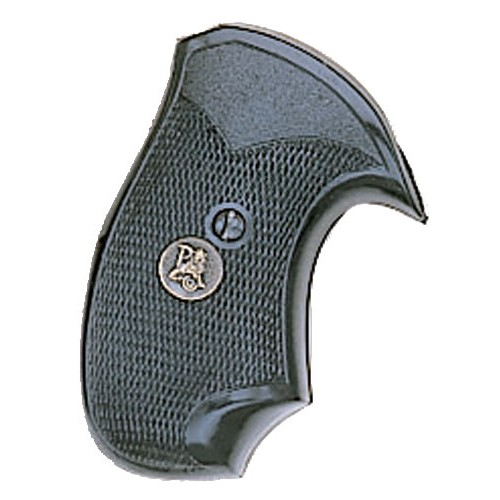 """Pachmayr Gripper Grips with Finger Grooves Colt """"D"""" Frame, Post 1971 Revolvers C"""