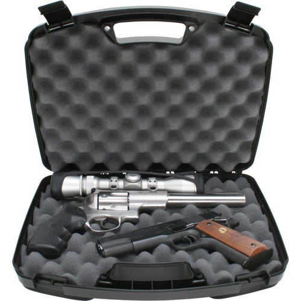 MTM 809 Mallette 2 Armes de Poing Jusqu'à 215MM Noir