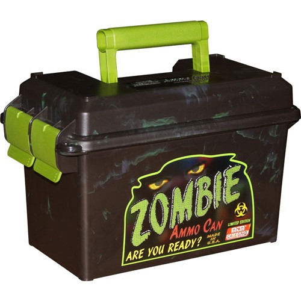 MTM 50 Caliber Zombie Ammo Can AC50Z Noir