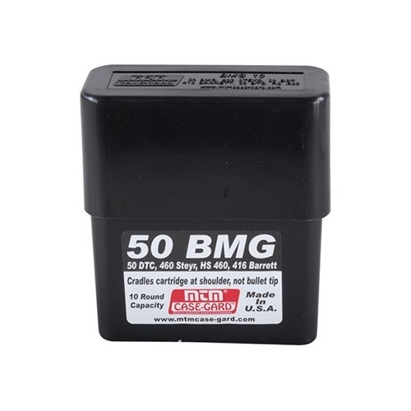 MTM BMG10 Boîte A Munitions 50 BMG, 50 DTC Noir