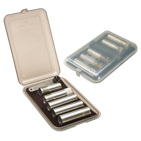 MTM CT3 Boîte À Choke Tube Pour 6 Rallonges Choke Fumé Transparent