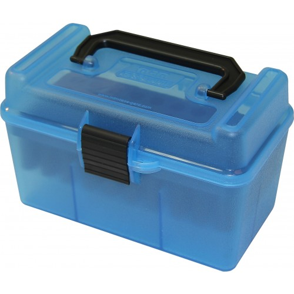 MTM H50-RS Boîte À Munitions Bleu Transparent