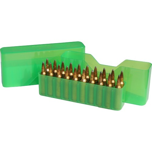 MTM J20-L Boîte À Munitions Vert Transparent
