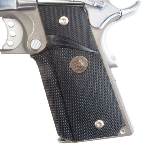 Pachmayr Signature Grips without Back Straps Colt 1911 Combat Style GM-45C