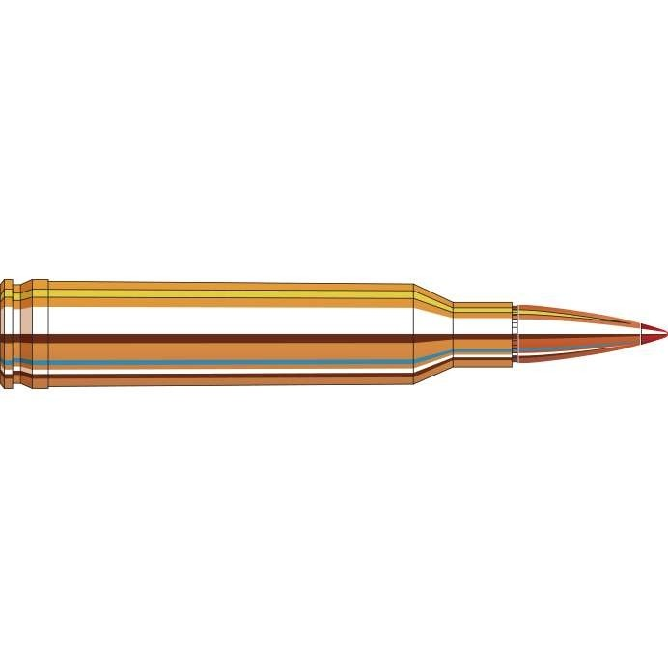 Hornady 8061 Munitions 7MM Rem Mag 154gr Superformance SST x20