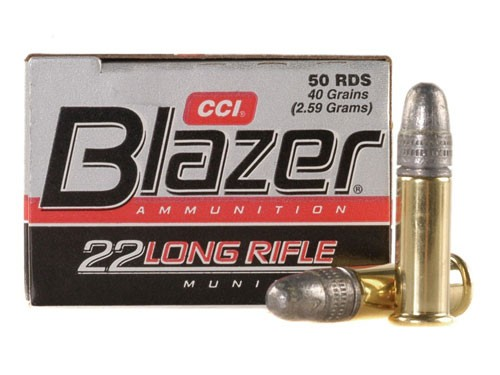 CCI Blazer Cartouches 22 Long Rifle par 5000