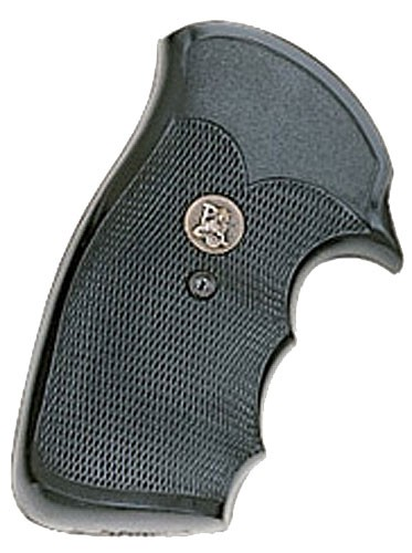 """Pachmayr Gripper Grips with Finger Grooves S & W, """"K"""" & """"L"""" Frame Square Butt SK"""