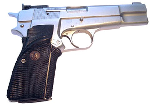 Pachmayr Signature Grips with Back Straps Browning HP 9mm & 40 S&W Combat Style