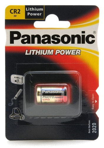 Panasonic CR2 3v Pile Lithium Photo PCL6402