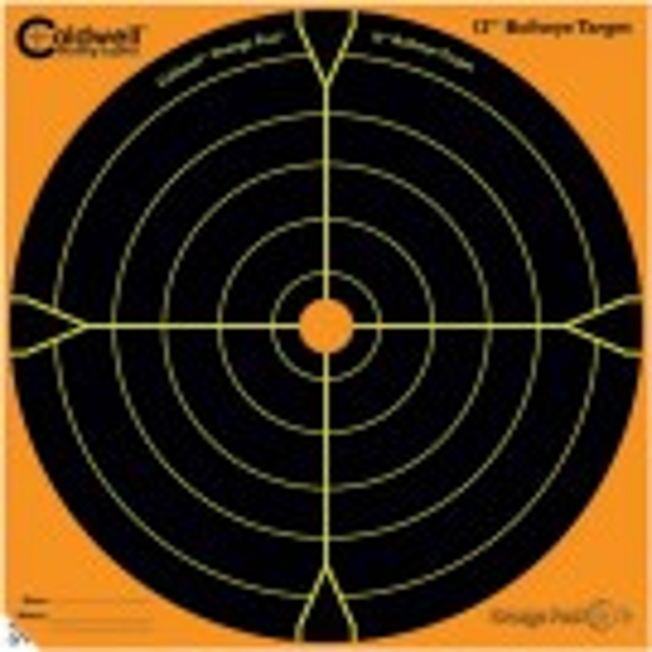 Caldwell Orange Peel Cible 30cm Autocollante Bullseye x100