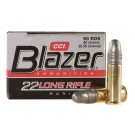 CCI Blazer Cartouches 22 Long Rifle par 500