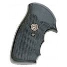 """Pachmayr Gripper Decelerator Grips with Finger Grooves S & W, """"N"""" Frame Round Bu"""