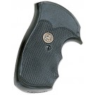 """Pachmayr Gripper Decelerator Grips with Finger Grooves S & W, """"J"""" Frame Round Bu"""