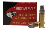 Federal American Eagle Munitions 22 Long Rifle HV 40g LRN x5000