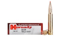 Hornady 8116 Munitions 30-06 Springfield 165gr Superformance GMX x20