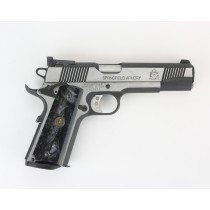 Pachmayr G10 Tactical Grips 1911 Black Pearl Smooth