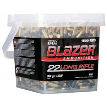 CCI Blazer Munitions 22 Long Rifle 38gr Plomb RN Sceau de 1500
