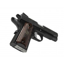 Pachmayr Renegade Wood Laminate 1911 Officer Double Diamond Rosewood Checkered